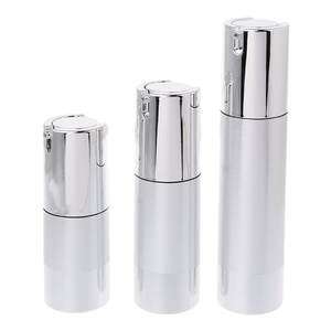 Empty Airless Bottle Cosmetic Plastic Pump Container Travel Tool 15 30 50ml