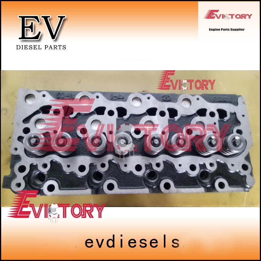 V2203 V2203M V2403 cylinder head +full engine gasket kit  For Kubota KX155 excavator