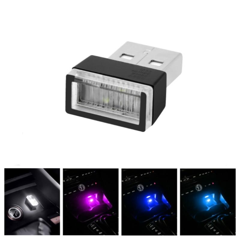 Автомобильный USB светодиодный светильник для Peugeot 206 407 207 406 208 3008 2008 306 301 106 107 607 5008 807 205 405