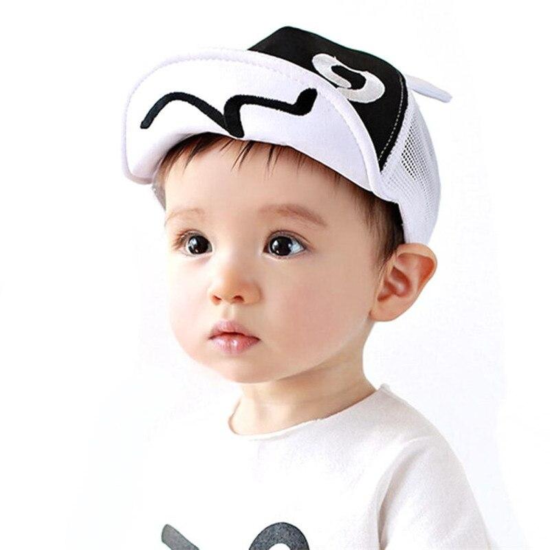ARLONEET de bebé de moda sombreros para niño o niña de malla de ala suave brida sombrero bebé de gorra de beisbol gorra bebé de 1 a 2 años 30s527 envío de la gota
