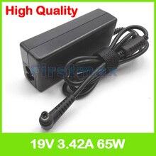 19 V 3.42A 65 W AC adaptateur pour ordinateur portable alimentation pour Asus P43 P45 P450 P80 P81 PL80 Pro45 Pro450 Pro4 Q400 R404 chargeur