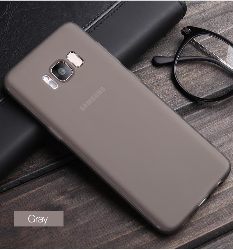 Cafele miękka tpu case do samsung s8/s8 plus sprawach slim powrót protect skóry ultra thin telefon pokrywa dla samsung galaxy s8 plus 14