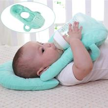 Almohadas funcionales para bebé, almohada lavable en capas para amamantar, modelo de cojín ajustable, para alimentación infantil, cuidado del bebé