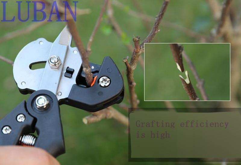 Entmachine Tuingereedschap met 2 messen, hakselaar, boomentang, - Tuingereedschap - Foto 5