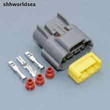 Shhworldsea bobine dallumage 3pin   Prise de connecteur de harnais, étui pour Nissan horizon sr20 rb20 rb25 rb26 6098-0141