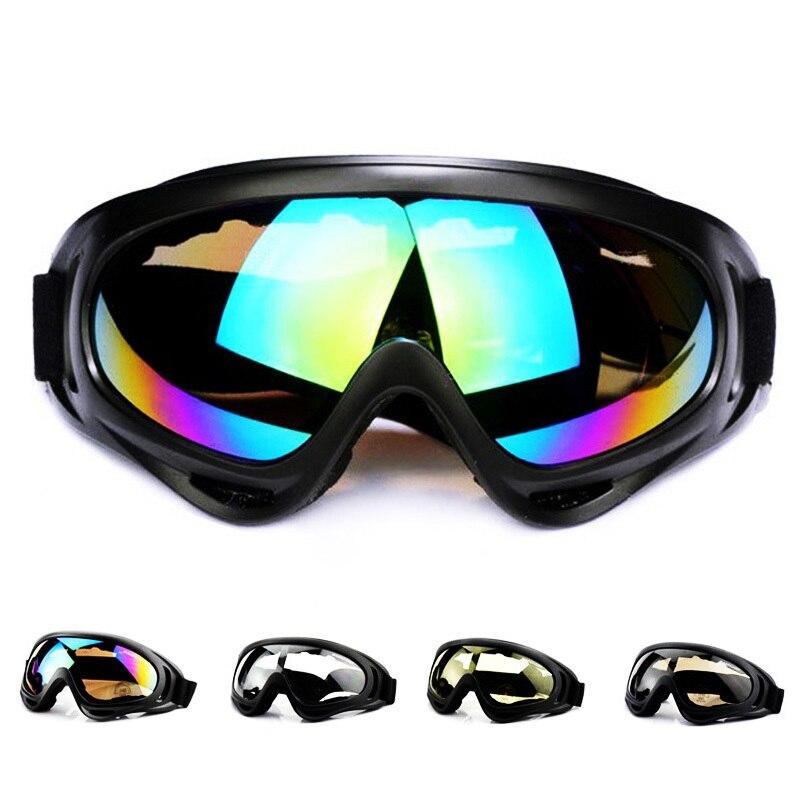 Зимние спортивные очки для сноуборда, снегохода, противотуманные очки, ветрозащитные пылезащитные очки