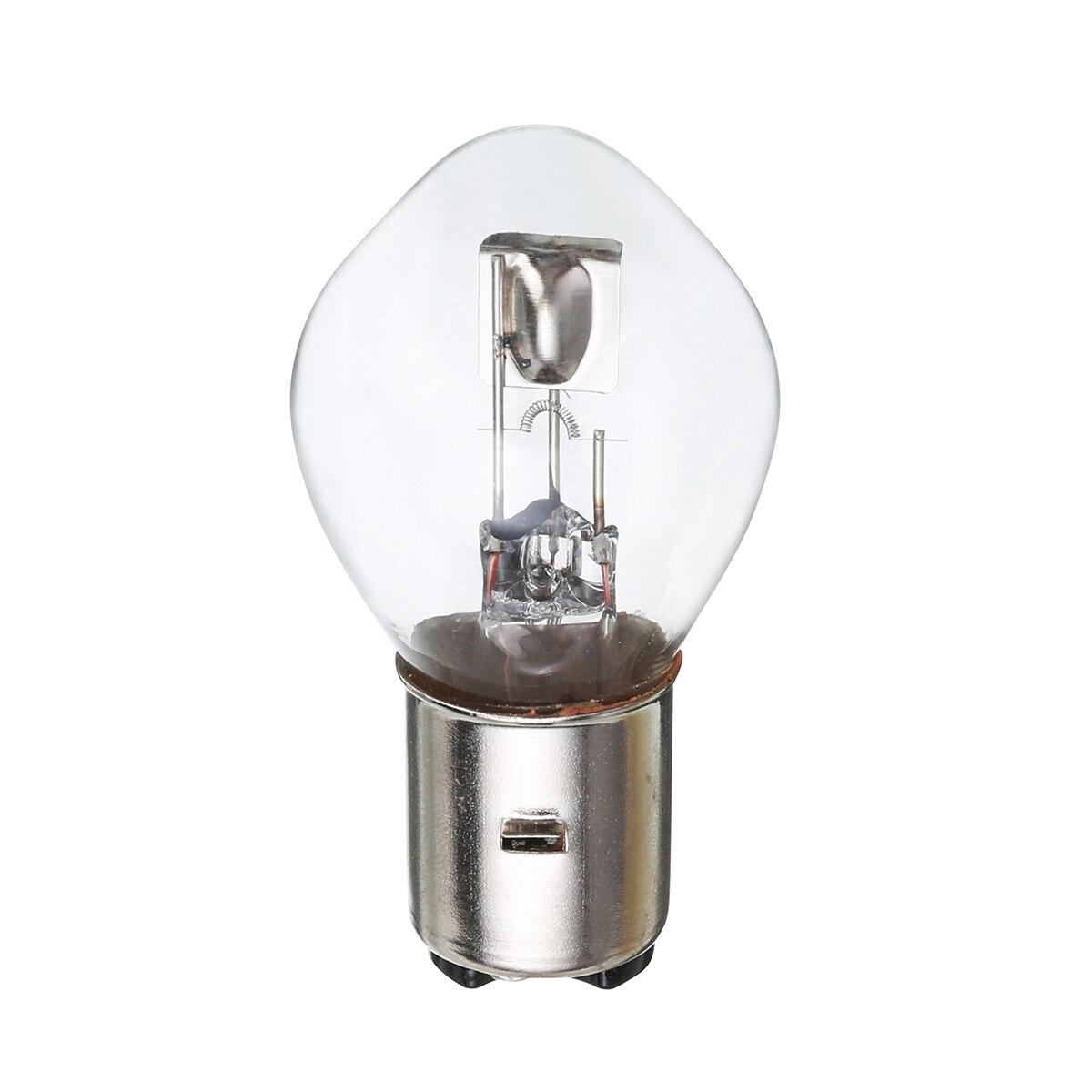 1 шт. 12В 35 Вт 10А B35 BA20D мотоциклетные батареи фары белый головной свет лампы супер яркая лампа для Скутер мопед вездеход
