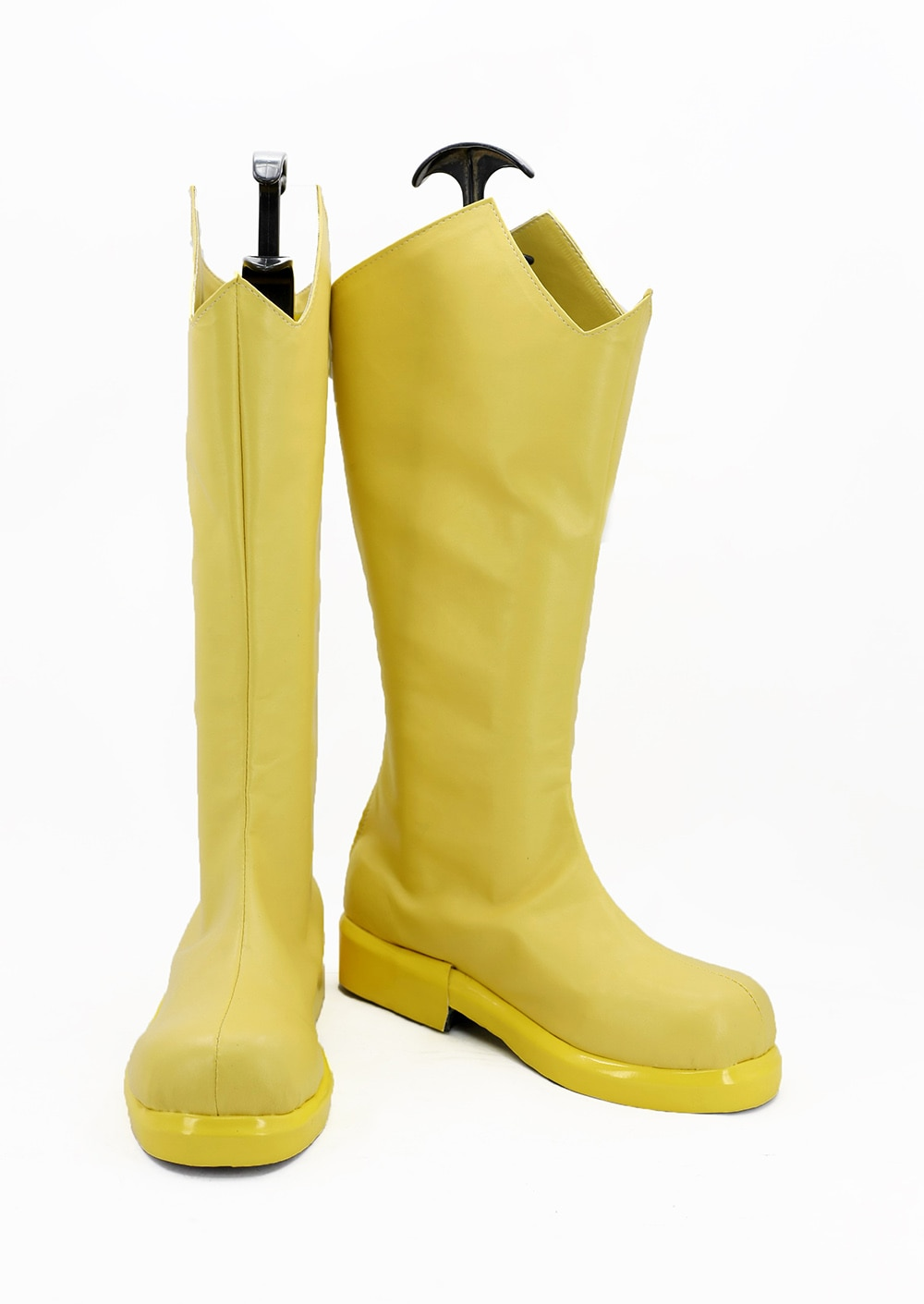 Os Vingadores Vespa Janet van Dyne Cosplay Botas Sapatos Amarelo Feito Sob Encomenda
