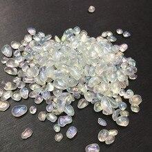 Pierre de quartz naturelle pierre de gravier galvanoplastie ange aura pierre de rupture pour la décoration