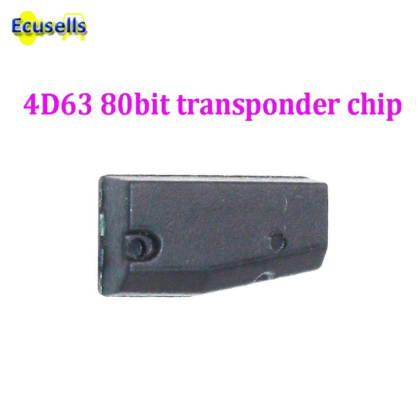 ID83 ID4D63 chip Auto Auto Schlüssel CARBON REINES Transponder Blank 4D63 Chip 80 BIT für Ford für Mazda