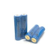 10 unids/lote TrustFire TR18650 3,7 V 2500mAh 18650 batería de litio recargable con fuente de alimentación de protección PCB para linternas LED