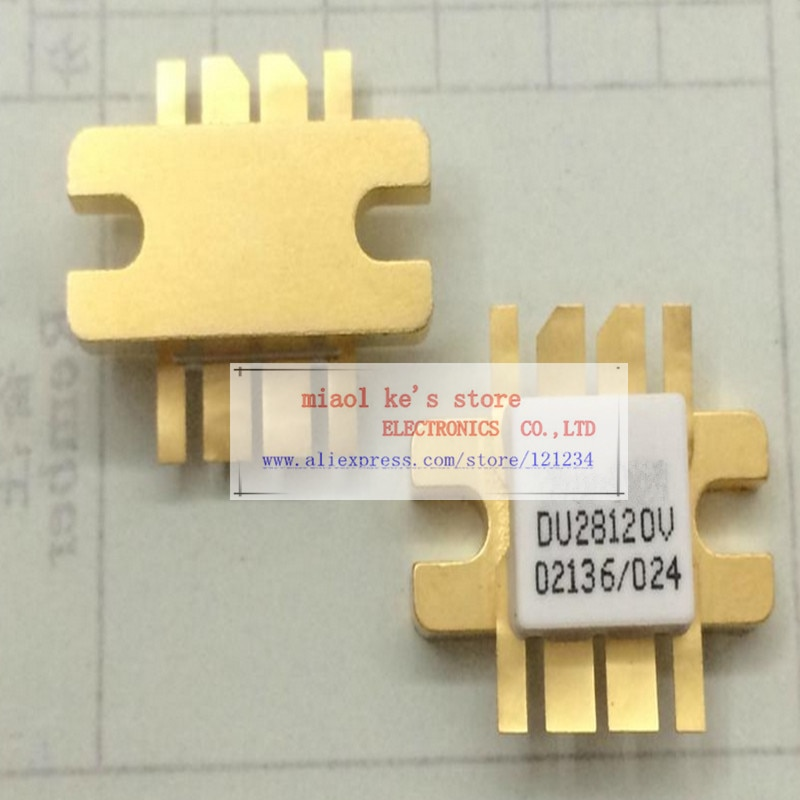 100% Original DU28120V du28120v [ 28V-65V 12A 120W 175MHZ] -TRANSISTOR de puissance RF MOSFET