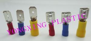 200pcs(100pair) FDD1.25-250/2-250/5.5-250/MDD1.25-250/2-250/5.5-250 male and female insulating Electrical Crimp Terminal splice