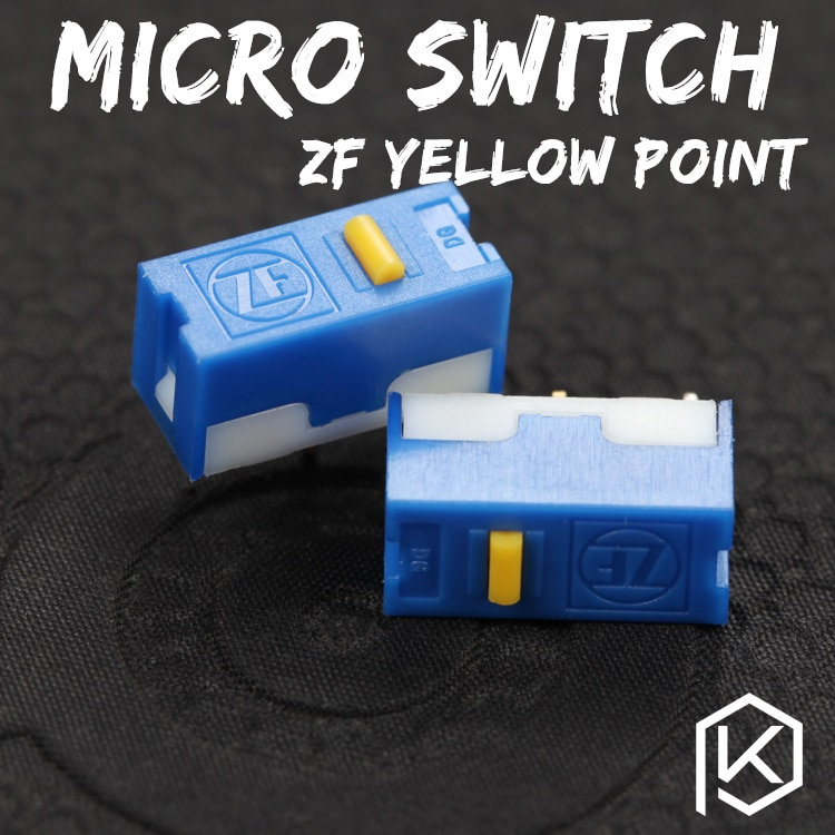 Zf 5 adet Ücretsiz kargo altın nokta Mikro Anahtarı Mikro Anahtarı Fare servis ömrü 6000 W oyun mikro anahtarı DGBE-FL60