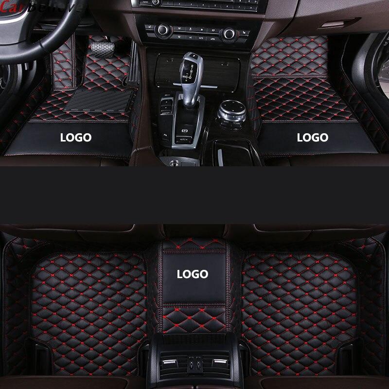 Coche que coche tapetes para bmw x3 e83 x3 f25 g30 x5 e70 x6 e71 z4 e85 e70 f45 f34 f11 f10 f15 f25 accesorios alfombra