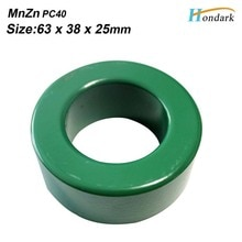 Balun branello 63X38X25mm trasformatore a nucleo di ferrite 2.5X1.5X1 pollici cavi cavo di EMI filtro anello di ferrite RF choke ferrite, 1ea/lot