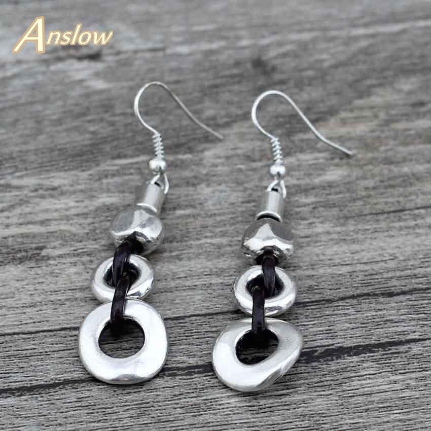 Anslow Wholesale Hot Earings Fashion Jewelry 2017 Fringe Earrings For Women Men Boho Best Friend Birthday Party Gift LOW0026AE