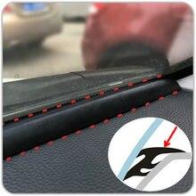 Резиновые звукоизоляционные противоударные уплотнительные ленты 1,6 м EDPM для авто, внедорожника, MPV, приборной панели, кромок лобового стекла