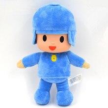 1 stks 26 cm Bandai Pluche Pocoyo Knuffels Doll Soft Figuur Speelgoed voor Kids Kinderen Kerst Verjaardagscadeau