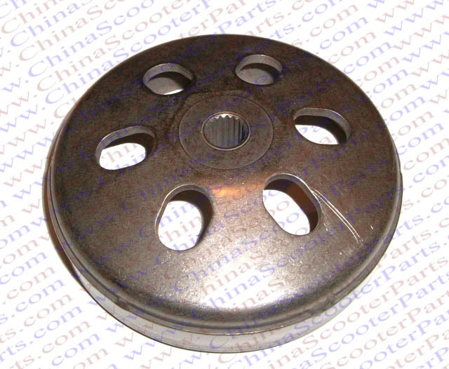 136 MM 19 T embrague Bell GY6 125CC 150CC 152QMI 157QMJ Baotian Jonway Sunl Taotao Kazuma ATV Buggy Scooter partes