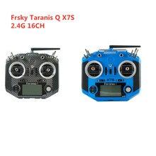 Frsky 2.4G 16CH ACCST Taranis Q X7S transmetteur de transfert deau en Fiber de carbone Mode à distance 2 avec récepteur R9M pour Drone de course RC
