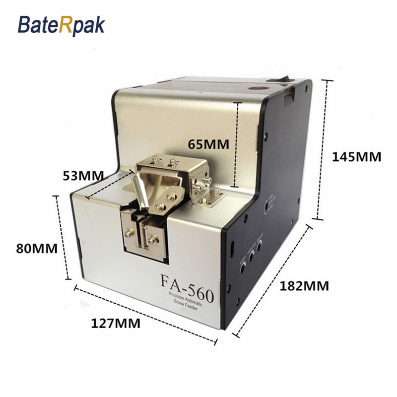 FA-560 BateRpak/FUMA-وحدة تغذية لولبية أوتوماتيكية دقيقة ، وحدة تغذية لولبية ، موزع لولبي أوتوماتيكي ، آلة ترتيب البرغي