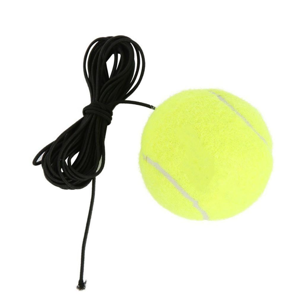 Эластичная резинка теннисный мяч один тренировочный пояс линия шнур инструмент отскок Теннисный тренажер партнер спарринг устройство