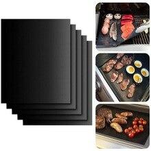 Meijuner 2 pcs Non-stick Barbecue Griglia Zerbino di Cottura Zerbino Teflon Cottura Cottura Alla Griglia Copriletto Resistenza Al Calore di Facile Pulizia Della Cucina strumenti