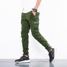 ICPANS pantalon 2018 mode coton militaire tactique noir kaki armée pantalon hommes décontracté Cargo pantalon hommes mince pantalon grande taille pantalon