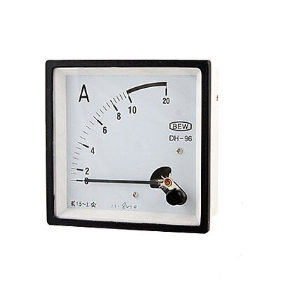 Medidor de amperes de Panel de corriente analógica AC10A de precisión clase 1,5