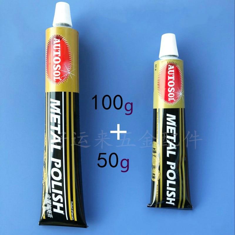 Importowana z Niemiec Autosol 50 / 100g pasta do polerowania metali