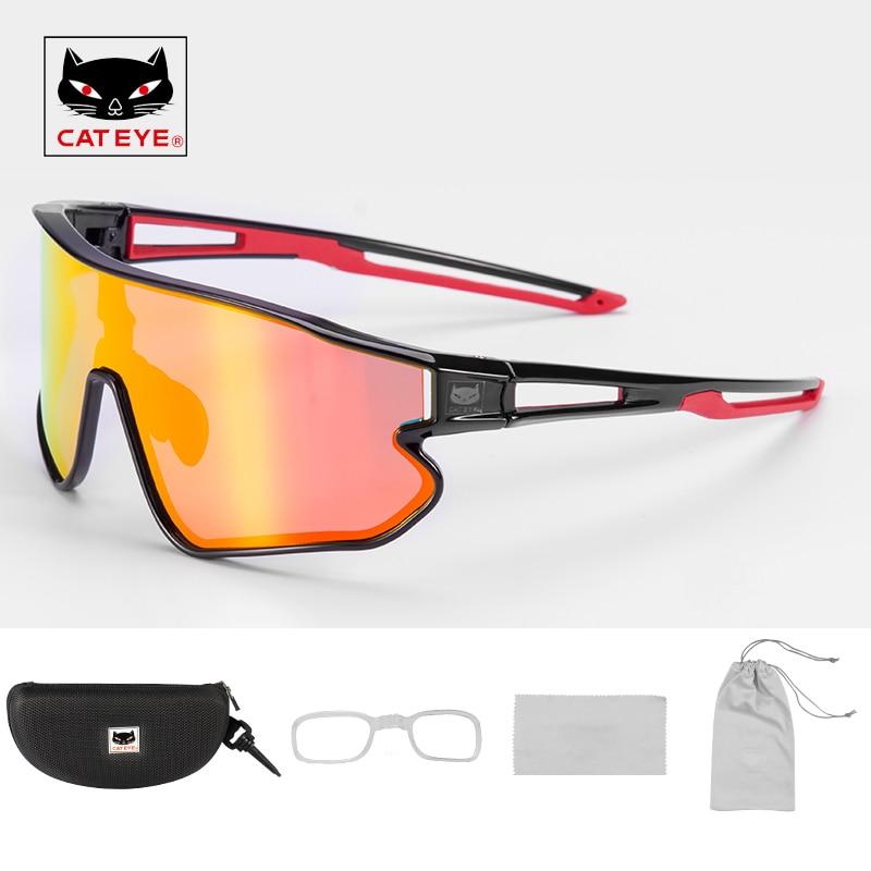 Gafas de ciclismo polarizadas CATEYE protección UV400 lentes fotocromáticos gafas de sol para bicicleta hombres mujeres senderismo escalada gafas de pesca