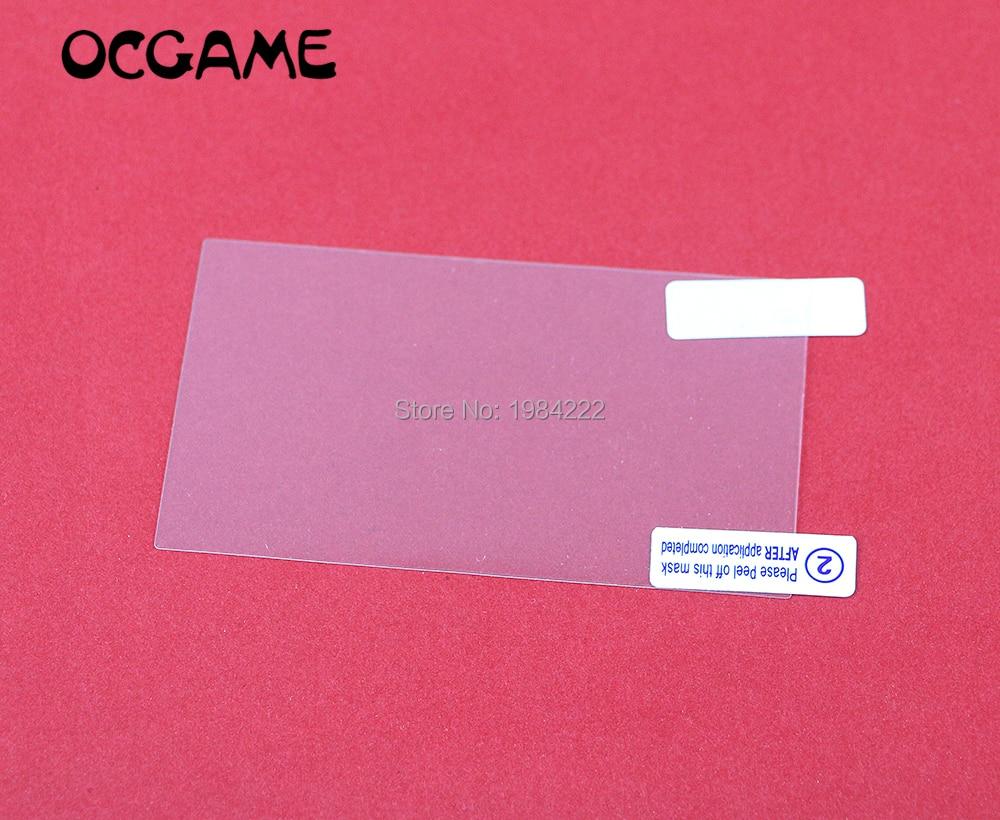 OCGAME transparente protector de pantalla más paño limpio película protectora para PSP 1000 de 2000 de 3000 guardia 200 set/lote
