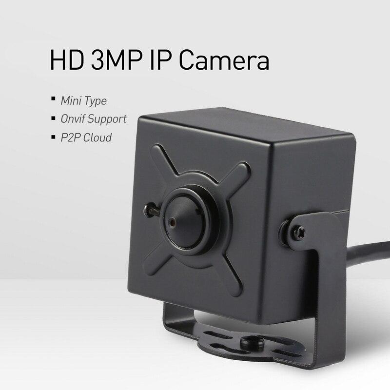 Minicámara Tipo H 265 Hd De 3mp Ip 1296p 1080p Seguridad Interior De Metal Onvif P2p Sistema De Videovigilancia Cam De 3 7mm Cámaras De Vigilancia Aliexpress