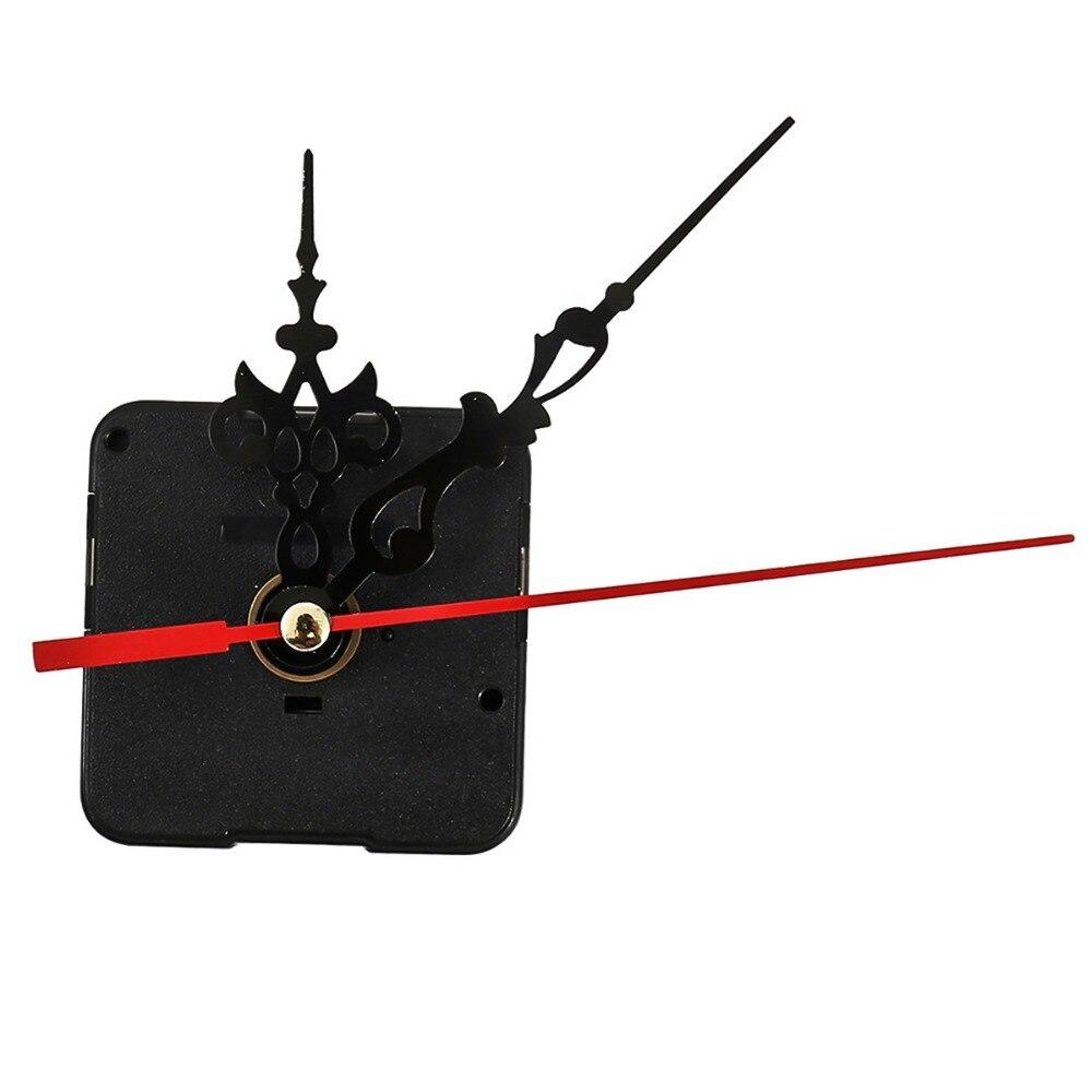 XNCH бесшумные кварцевые настенные часы механизм DIY набор запчастей 12 мм шпиндель длинные руки
