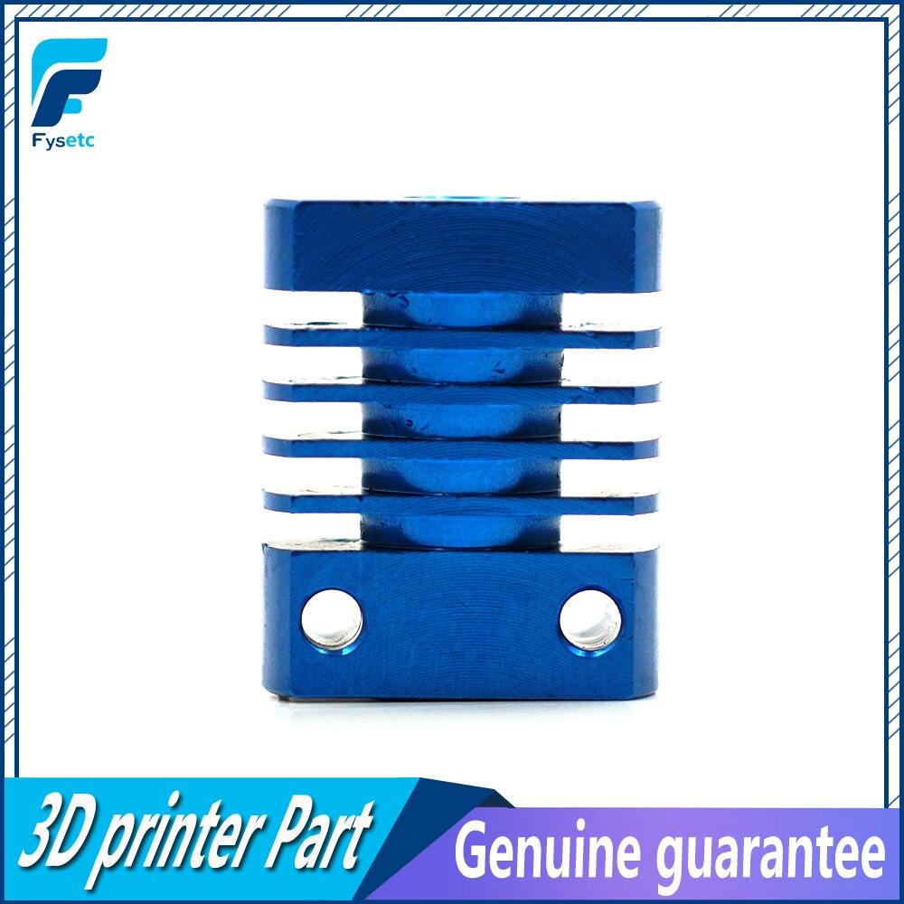 1pc MK10 V6 disipador de calor del radiador ajuste 22mm ventilador de refrigeración de aletas de aluminio con Tamaño 27x22x12mm para CR8/CR10 3D piezas de la impresora