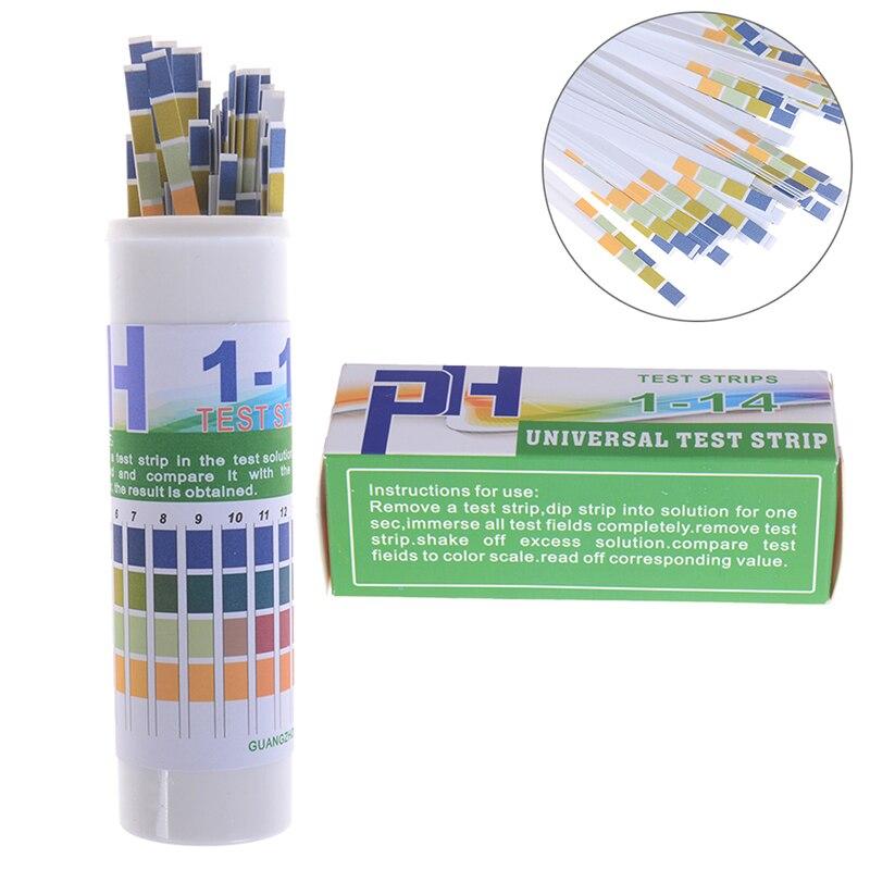 150 Uds Indicador de tira de prueba de PH PH1-14 papel de prueba para prueba de Saliva de agua y orina Laboratorio de medición del hogar
