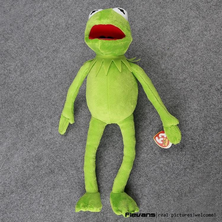 Hot Sale 14'' 40cm Kermit Plush Toys Sesame Street Doll Stuffed Animal Kermit Toy Plush Frog Doll Holiday Gift