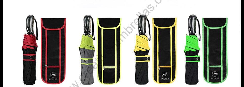 116cm 3 person Auto open auto close tungsten steel safe hammer parasol self-defense mini golf car business gift  box umbrella enlarge