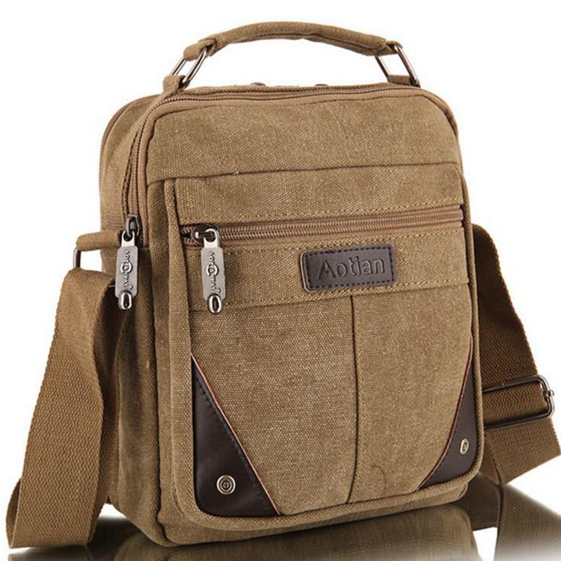 2020 men's travel bags cool Canvas bag fashion men messenger bags high quality brand bolsa feminina shoulder bags M7-951