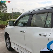 Voor TOYOTA PRADO J150 J 150 2010-2015 ABS Plastic Window Visor Zonneklep Deur Vizier Molding Regenkap stickers 4 STUKS