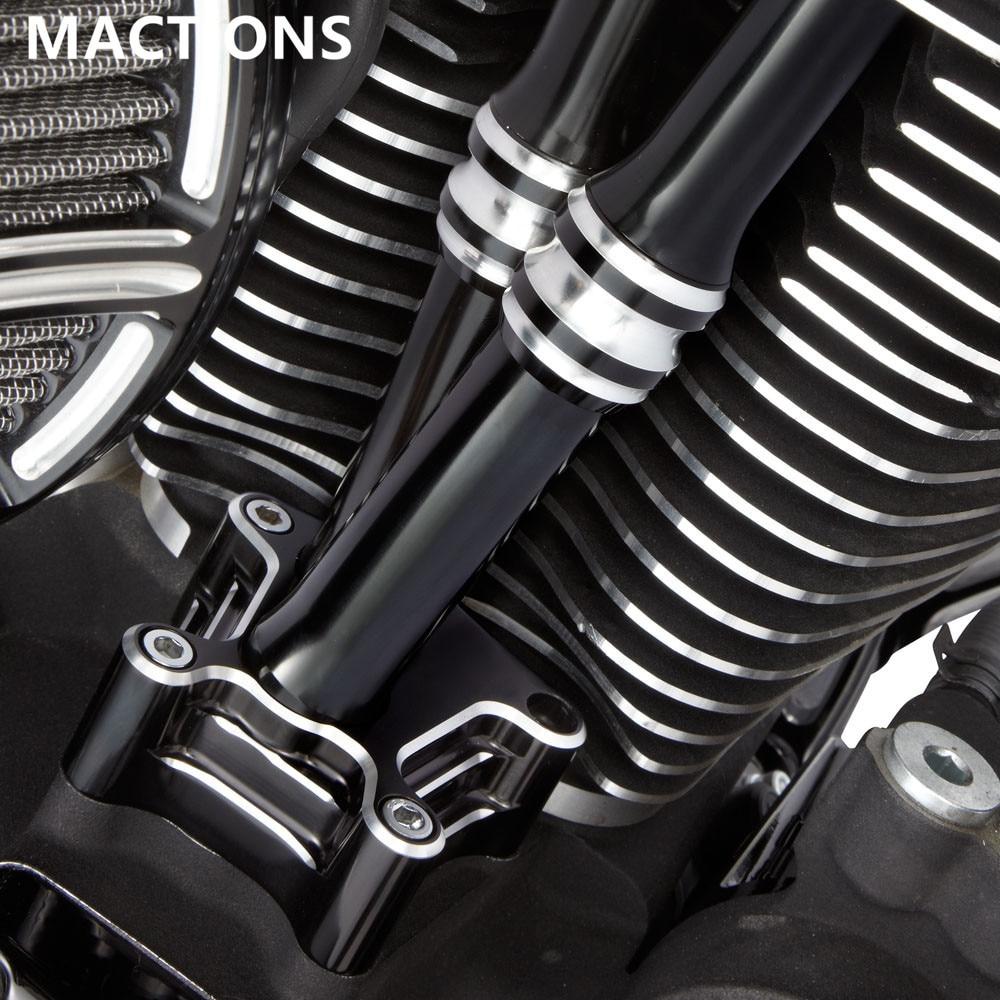 غماز محرك دراجة نارية بتحكم رقمي بالكمبيوتر غطاء من الألومنيوم لدراجة نارية Harley Touring Road King Street Electra Glide 1999-2017