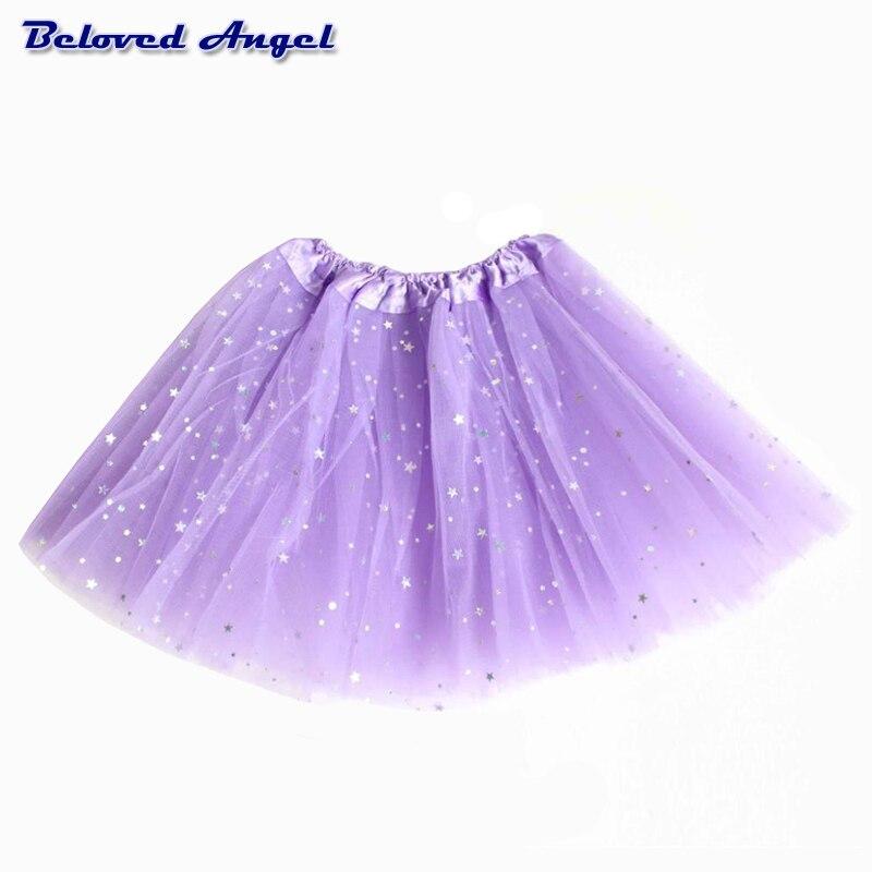 Faldas tutú para niñas, falda de bailarina para bebés, faldas tutú mullidas de chifón para niños, falda informal de color caramelo para Navidad para niños, ropa de fiesta