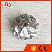 GT25 7+7 blades 46.52/60.13mm 445436-0001 high performance billet/milling/aluminum 2618 compressor wheel for 465949-0001