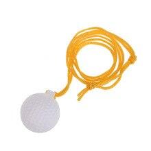 Nouvelle Haute Qualité Professionnel Swing Formateurs Boule Solide Golf Swinger Pratique avec Ficelle Accessoires SS