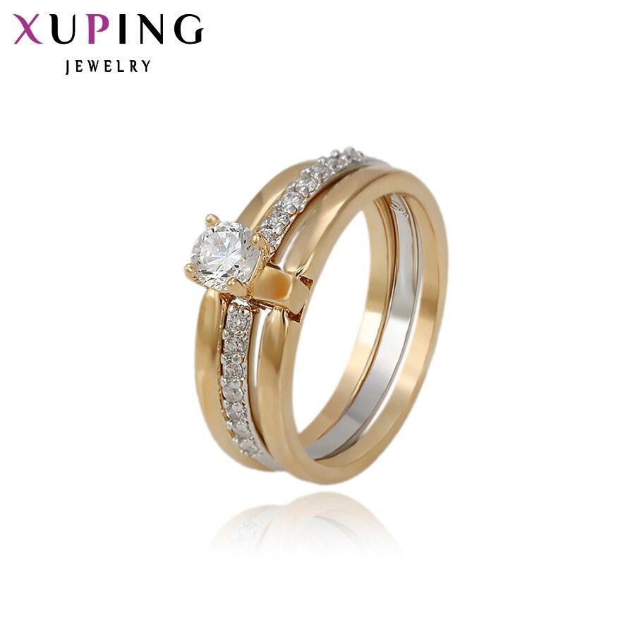 Xuping anillo de moda para mujeres boda estilo americano de joyería de calidad regalo de día de San Valentín S31 5-11901