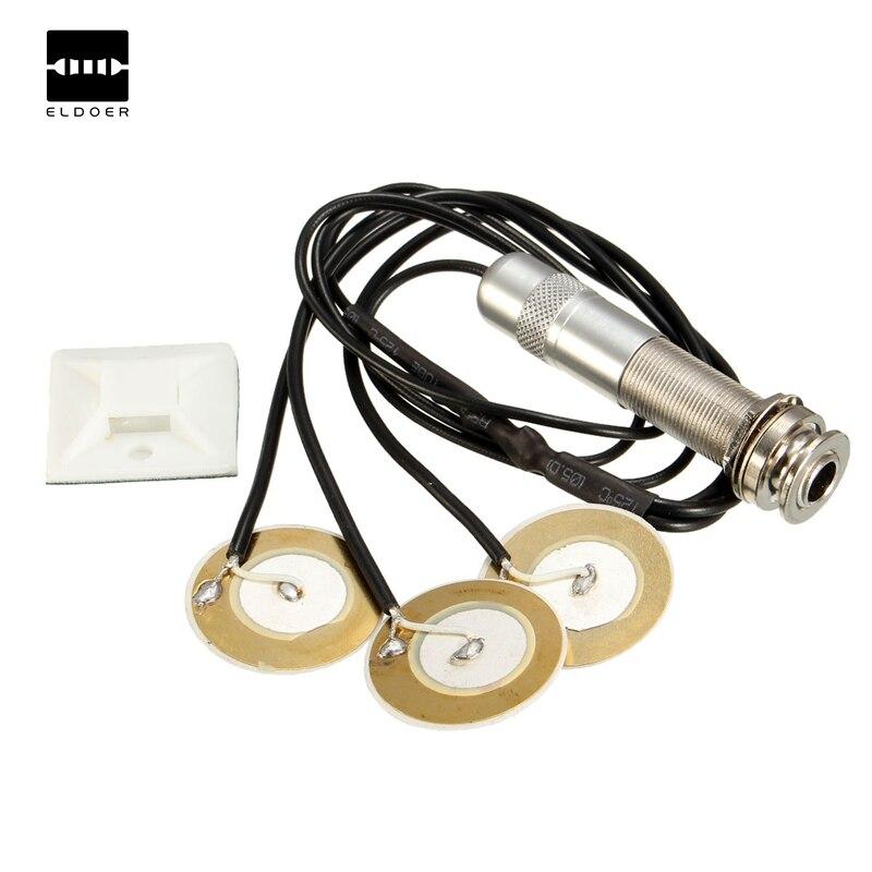 Pickups DIY de alta calidad profesional contacto piezoeléctrico micrófono Pickup instrumento Musical componentes acústicos