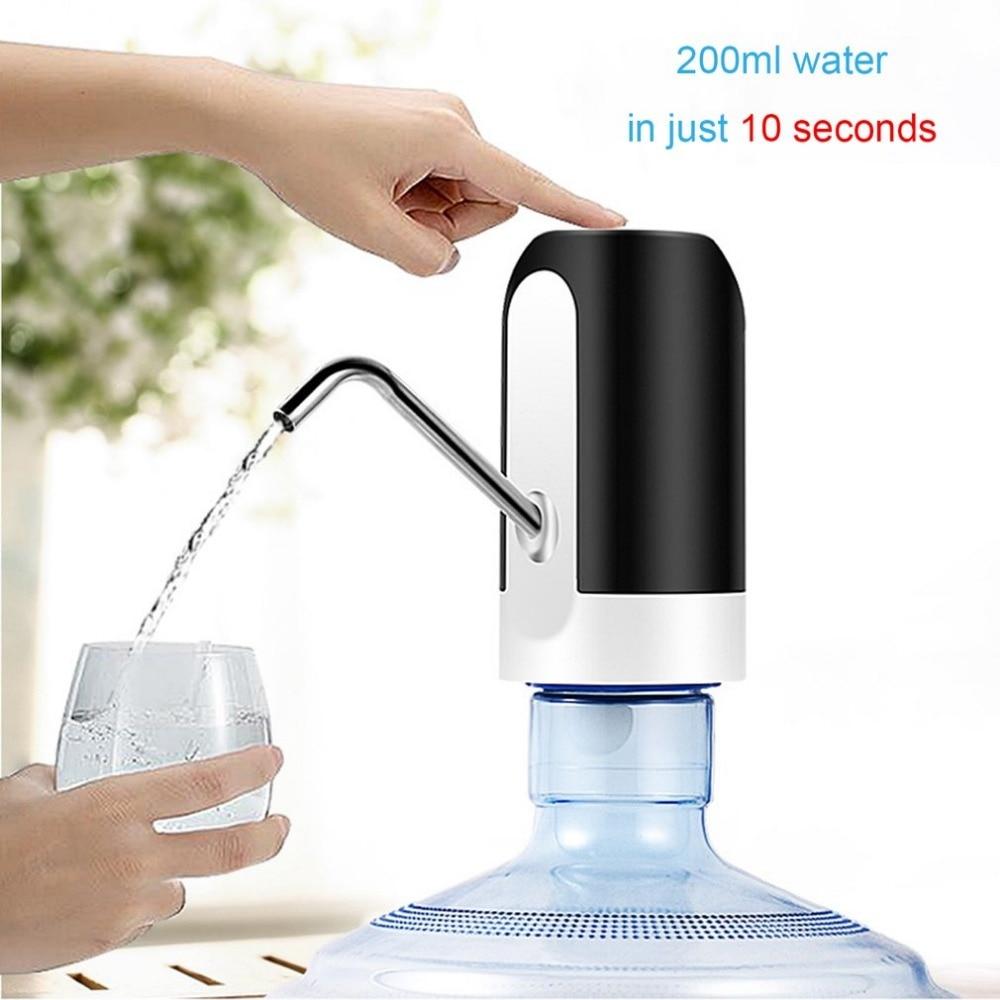 Бутылка распылитель для воды Электрический водяной насос Портативный