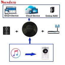 Audiocast M5 DLNA Airplay adaptateur sans fil Wifi musique Audio Streamer récepteur Audio musique haut-parleur pour Spotify flux multi-pièces