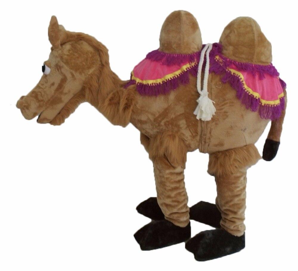 2 pessoa camelo mascote traje fantasia personalizado anime cosplay mascote fantasia vestido carnaval traje